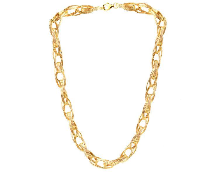 Naszyjnik ze srebra i złota | Apart