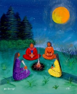 Happy Solstice Full Moon June 23th, 2013 ~ Wild Women Sisterhood