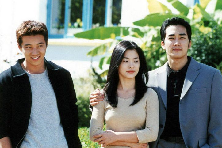 7 Sweet romantic K-dramas starring Descendants of the Sun's Song Hye Kyo  Autumn In My Heart with Song Seung Hun and Won Bin (2000)