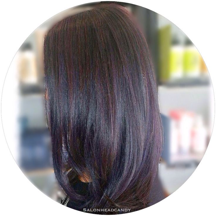Best 25 plum highlights ideas on pinterest plum hair highlights beautiful deep plum with dimensional orchid and dark plum highlights on shiny healthy hair dark pmusecretfo Choice Image