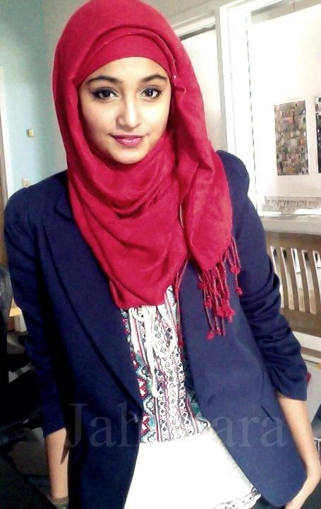 cute blazer n hijab style