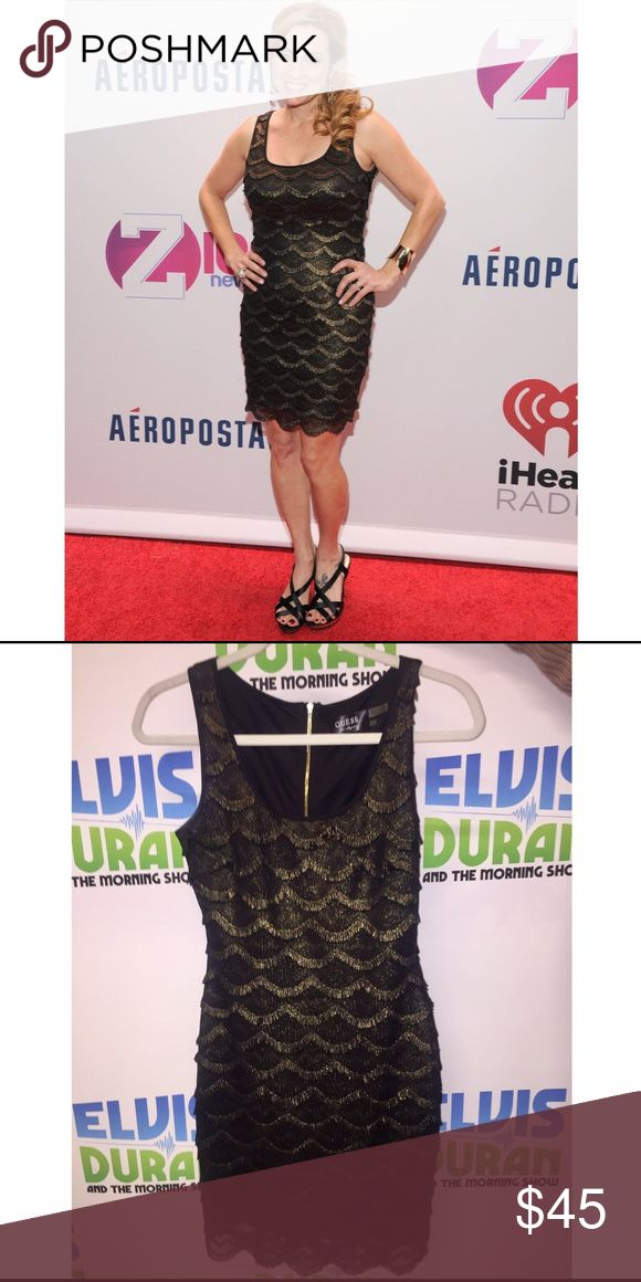 Guess dress Worn at Z100's Jingle Ball in 2013, worn once. Love this dress!! Guess Dresses Mini