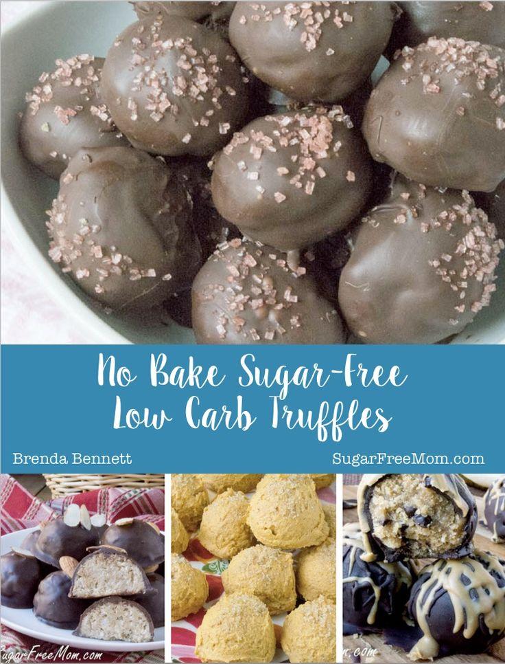 10 No Bake Sugare-Free Low Carb Truffles