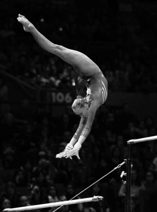 Gymnastics black and white