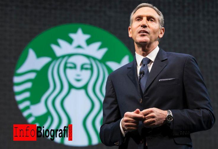 Biografi dan Profil Lengkap Howard Schultz - Pebisnis Sukses CEO Starbucks - http://www.infobiografi.com/biografi-dan-profil-lengkap-howard-schultz/