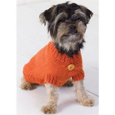 Mary Maxim - Free Dog Sweater Knit Pattern - Free Patterns - Patterns & Books