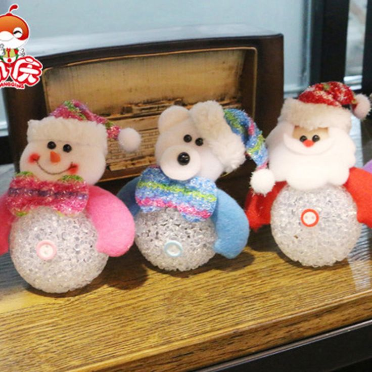 Find More Christmas Information about Christmas Decoration Flashing LED Snowman…