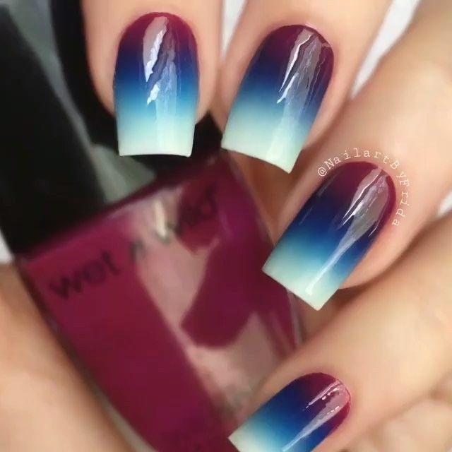 Gradient nails                                                                                                                                                                                 More