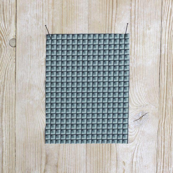 Deco Cotton Shirting - Teal