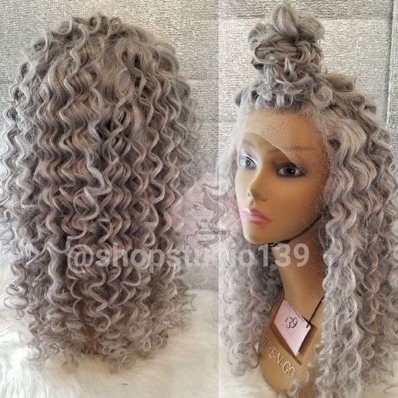 I just added this listing on Poshmark: Gray loose curls lace front wig. #shopmycloset #poshmark #fashion #shopping #style #forsale #Accessories