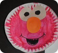 13 best images about muppets theme ideas on pinterest for Elmo arts and crafts