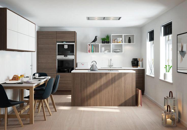 Bilderesultat for kjøkken med kjøkkenøy