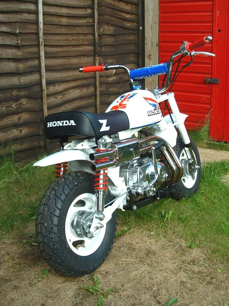 Honda Z50r Monkey Bike Ii By Flatfourdesign Mini Motos