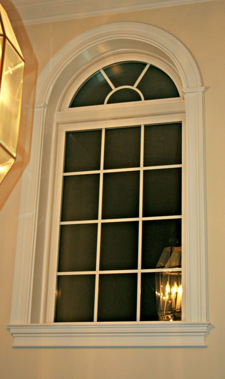Arched Window Casing Windsor Arched Windows Windows