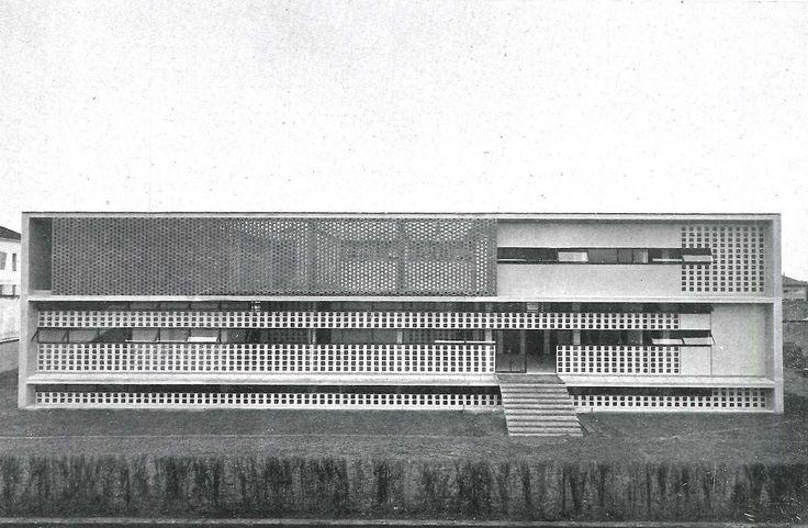 Ignazio Gardella, Anti-tuberculosis dispensary  [Alessandria, in Piedmont, 1933-38], via analogueway