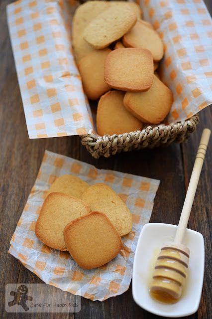 Bake for Happy Kids: Crispy vs Chewy Honey Cookies