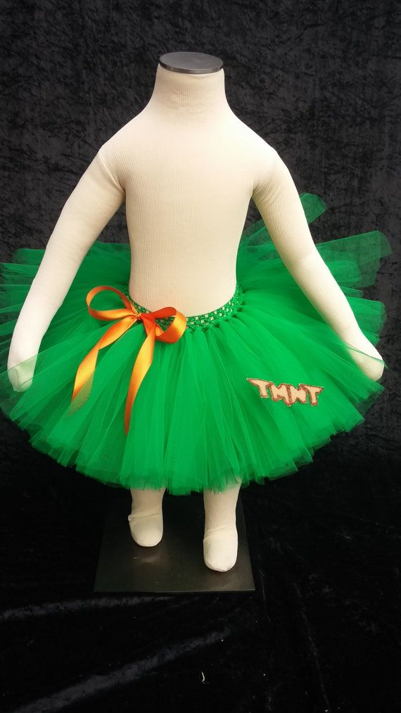 Teenage Mutant Ninja Turtle tutu by Fancythatcreation on Etsy, $30.00
