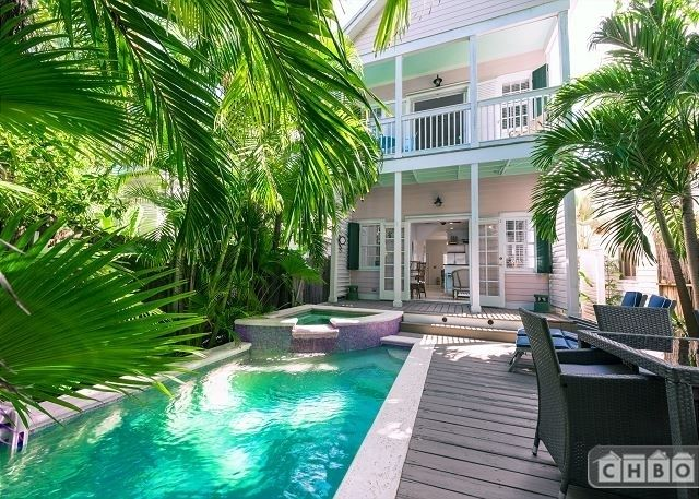 """""""The Pink House Florida Key West ~ Furnished Private Pool - Corporate Housing By Owner"""""""