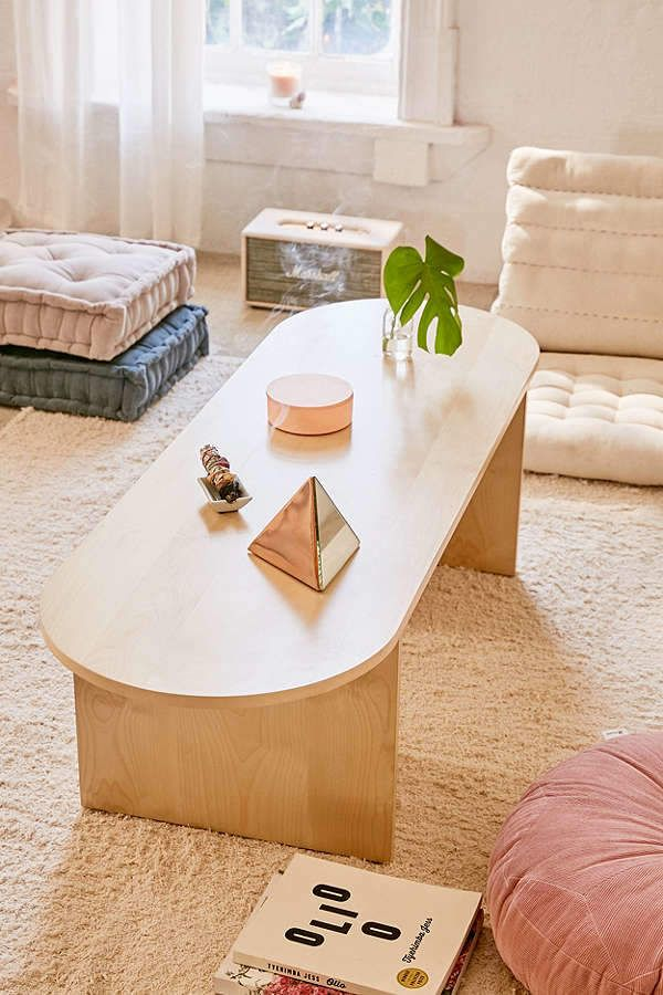 Urban outfitters mura bench boho bohemian home decor - Bohemian urban fusion living room ...