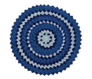 Circle Rug Blue – 120 cm