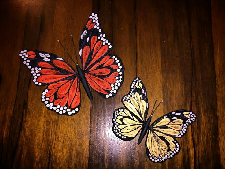 #quilling #paper #butterfly #animals #homemade #creative #colours