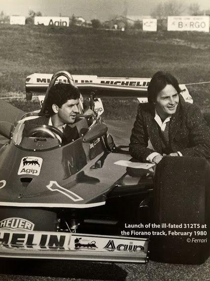 Jody Scheckter and Gilles Villeneuve 1980