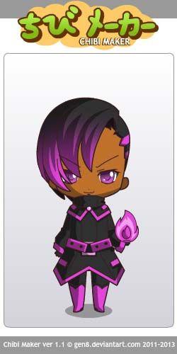 Sombra (Overwatch) Chibi Maker