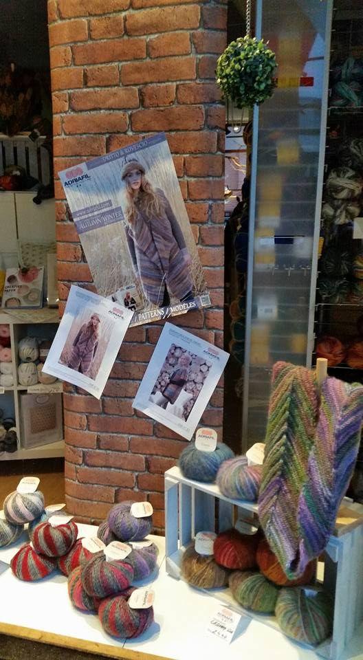 #Adriafil #madeinitaly high quality fancies in the showcase at @BeadandWoolShop ! http://bit.ly/AdriafilFantasiaLanaUKs  Send us your ADRIAFIL pictures! <3