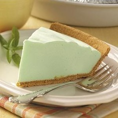Weight Watchers pie-one of my FAVES!! Low Calorie Key Lime Pie! or Strawberry Pie or Lemon Pie, the possibilities are endless. Sugar Free Jello, 2 yogurts, Cool Whip and a Graham Cracker crust! - Any flavor combo you could think of!
