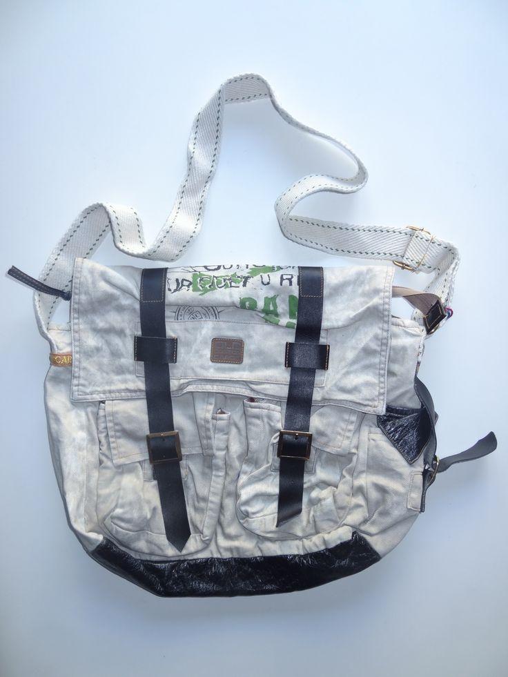 Old Cotton Cargo Bag - BAG#14 (59,- €)
