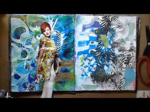 ABC Art Journal Series-J Just do it.