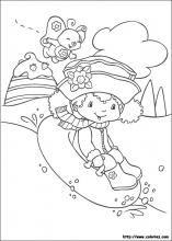 123 best images about sarah kay charlotte aux fraises a colorier on pinterest - Coloriages charlotte aux fraises ...