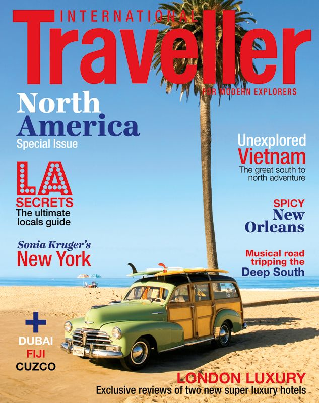 Issue 4 of International Traveller magazine, featuring the ultimate local's guide to L.A.
