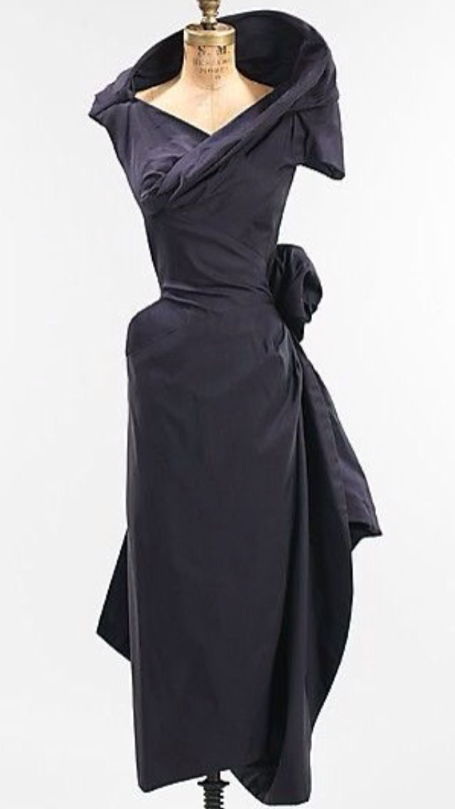 Cocktail Dress  Charles James  (American, born Great Britain, 1906–1978)                                                                                                                                                      More