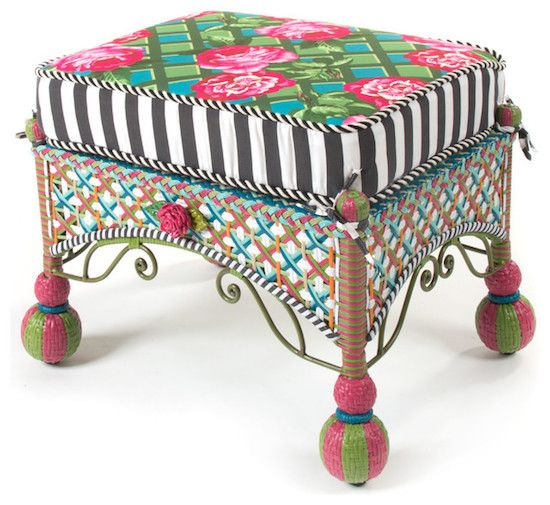 eclectic-outdoor-footstools-and-ottomans