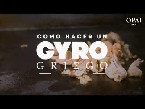 ▶ EXPLICAMOS™ Cómo hacer un Gyro Griego en casa - YouTube