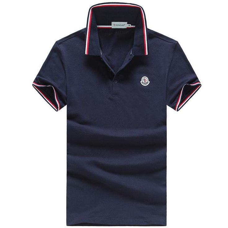 Moncler t-shirts for men, short sleeve cotton polos tshirts