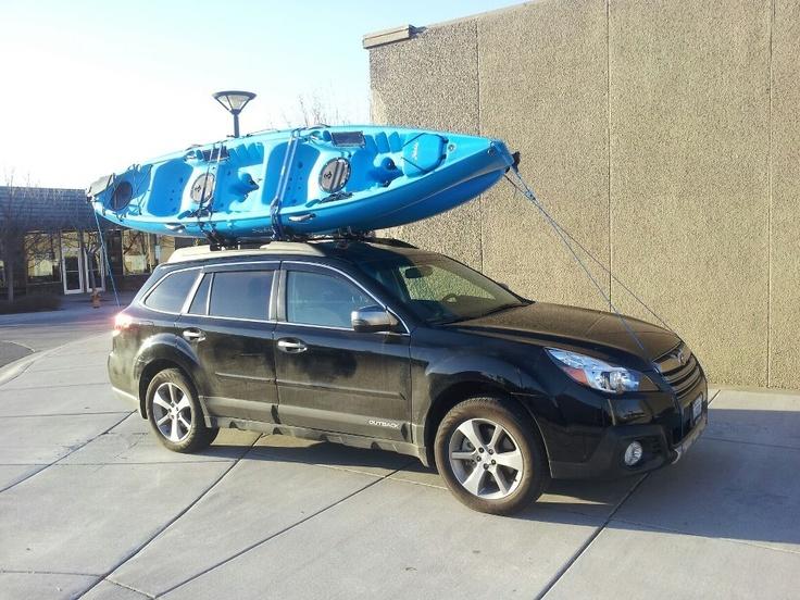 2013 Subaru Outback Amp 2013 Hobie Mirage Drive Oasis Kayak