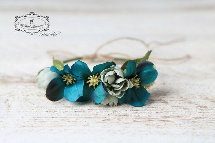 newborn flower crown,newborn headband,photo session,photo prop,nature inspired by OhDearAccessories on Etsy https://www.etsy.com/listing/455775540/newborn-flower-crownnewborn