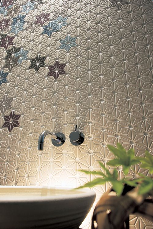 Academy Tiles | Richmond, Melbourne | Artarmon, Sydney | Mosaic Ceramic Glass Porcelain Stone Handmade tiles can be colour coordinated and customized re. shape, texture, pattern, etc. by ceramic design studios