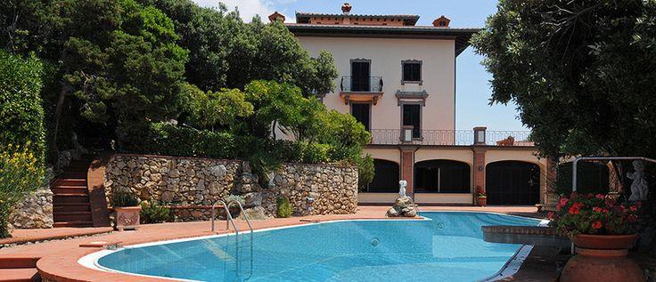 Villa Corcos,cas en laToscana