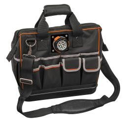 Klein Tools Tradesman Pro Lighted Tool Bag - 55431