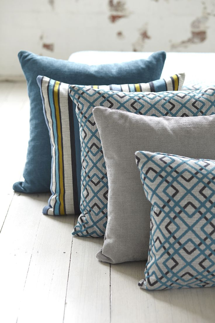 Caledonia Collection, Warwick Fabrics // cushions, fabric, textiles