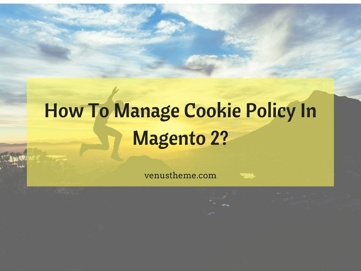 Cookies create convenience for your customers in many ways. Therefore, to manage cookie policy Magento 2 plays an important role in your store organization.
