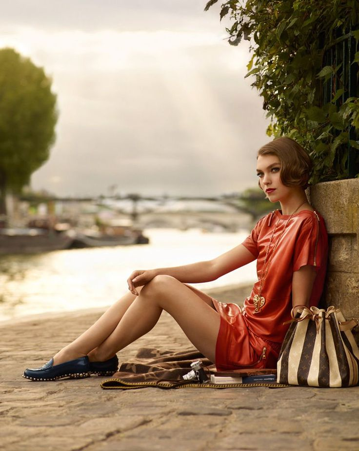 I want the shoes! - Arizona Muse for Louis Vuitton Cruise 2012 Catalogue by Mark Segal
