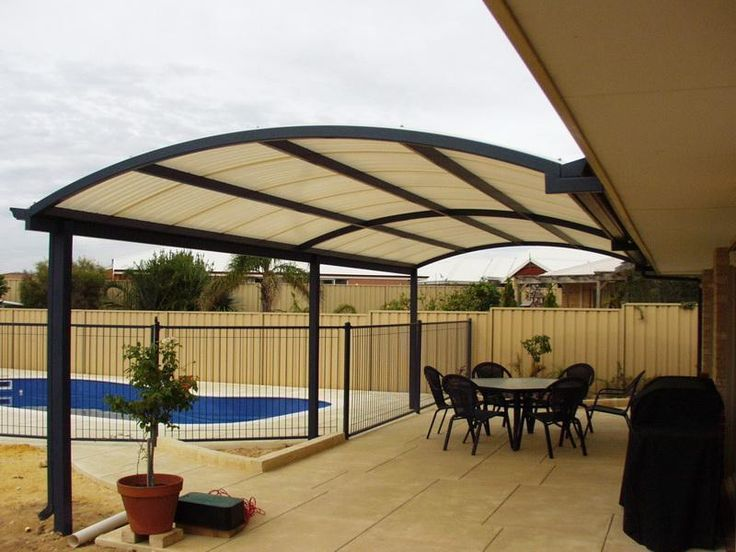 Nice Styles Of Covered Patio Ideas | Au Diable Vert