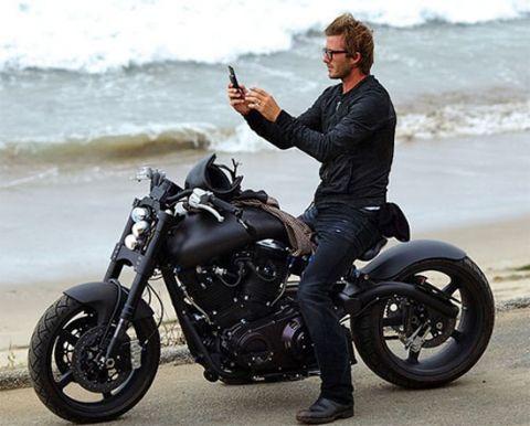david Beckham bike boots motorcycle fashion men tumblr Style steetstyle glasses