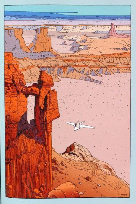 Moebius- comic art genius