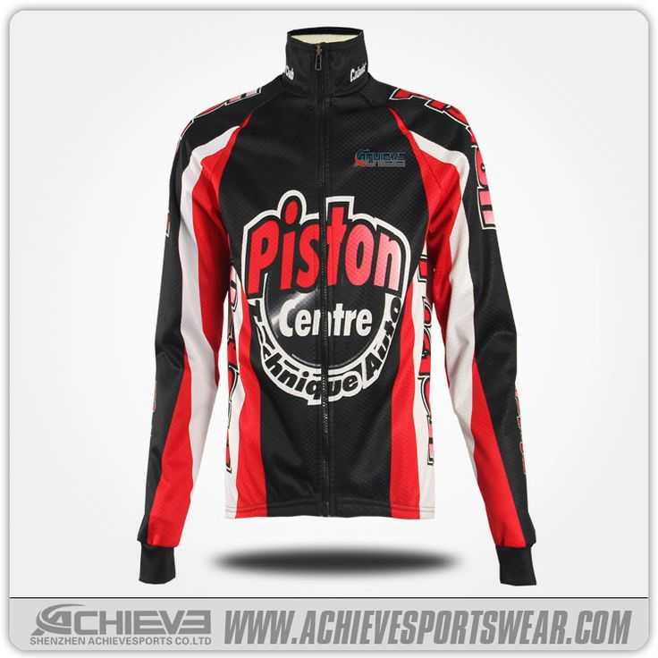 Custom cycling jacket