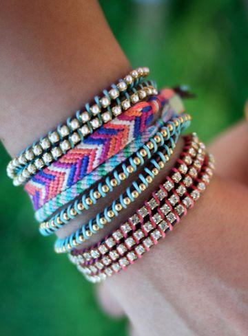 amazing DIY wrap bracelets {fun craft project}